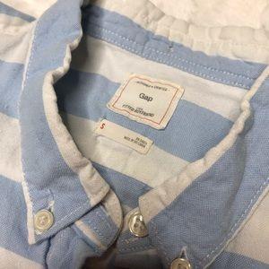 GAP Tops - Gap Blue Striped Button Up